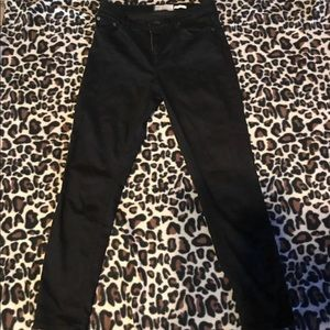 Free People High Rise twill Jeans